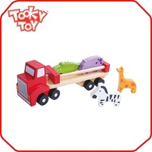 Hot sale popular cool wooden truck toy