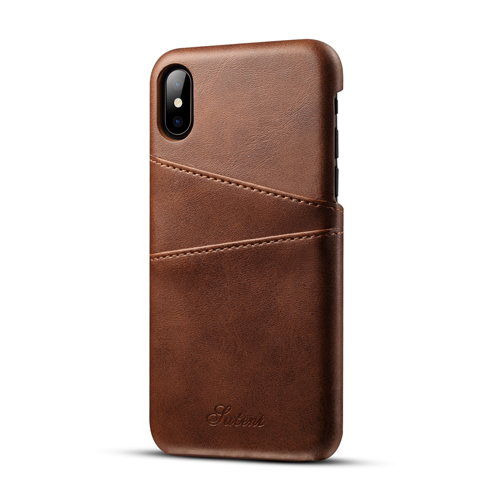 2018 Premium Custom Genuine Leather Cell Phone Case for Apple <strong>iPhone</strong> X