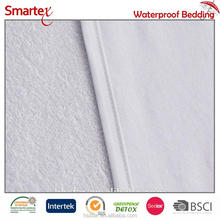 Wholesale Bamboo Terry and Cotton Jersey Sandwich Mattress Protector Cover Waterproof