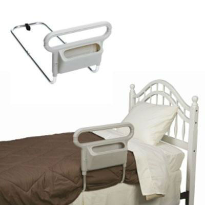 Mobility bed handle