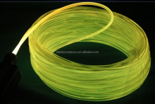 Free Sample Diameter 10mm PMMA fiber optic, 100m/roll side glow fiber optic
