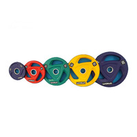 LJ-9816 wholesale custom colored rubber coated weight lifting bumper plate