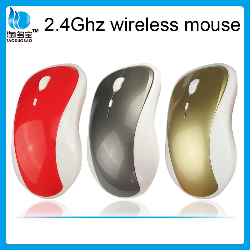 4D Wireless Unique 2.4GHZ Optical USB Cordless Changeable DPI steelseries mice, 800-1200-1600DPI