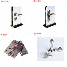 Arc frosted glass sliding partition interior door and barn door hardware for glass door