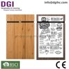 raw bamboo taekwondo wood board wooden menu holder best restaurant equipment for hotel bar & cafe