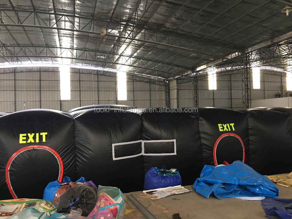 15x10x2.5m 2017 pvc laser gun tag game in inflatable bouncer for sales