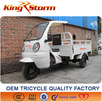 Lower price gas motor tricycle/3 wheel truck for sale