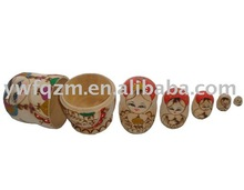 Wooden Handicrafts Russia Doll