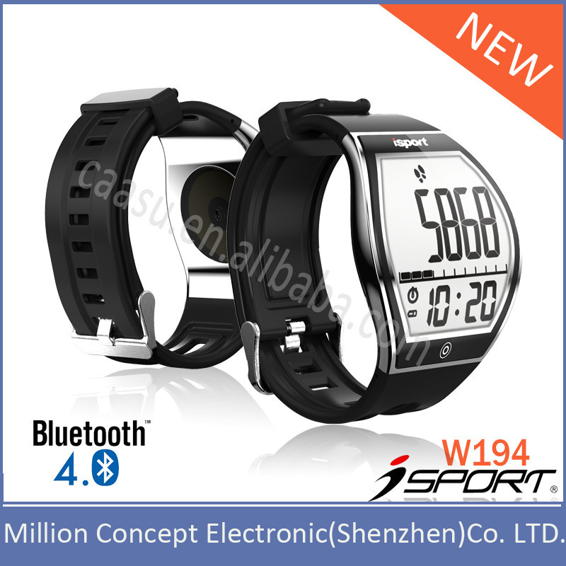 2015 New Design iOS& Android compatible E-ink Bluetooth Smart Wristband