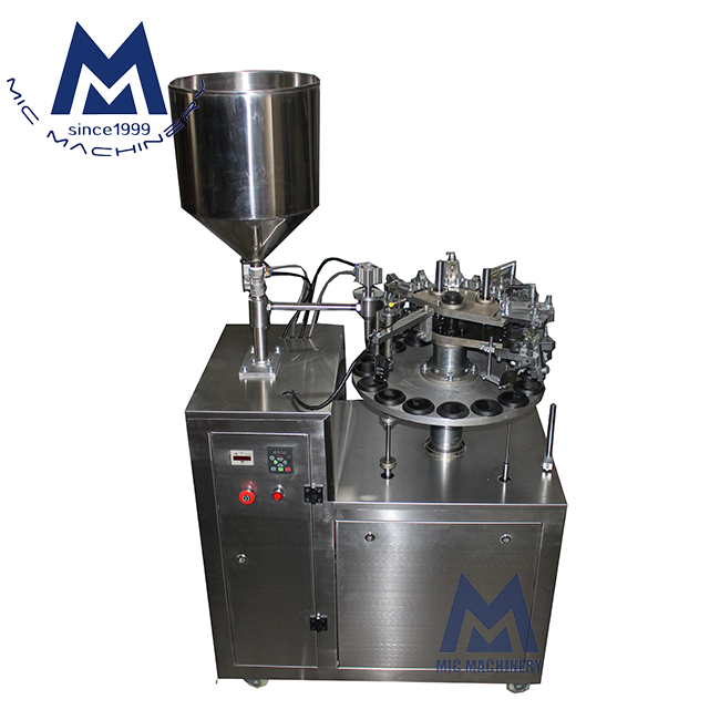 High quality CE approved Micmachinery MIC-R30 semi automatic tube sealer cosmetic