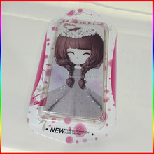 paper card Blister box phone case packaging for iphone 4 5 6 6plus wholesale price