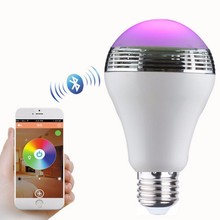 Ligth bluetooth speaker led lamp,wireless digital speakers,flash led light speaker with remote contro