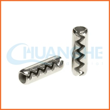 China fastener toothed elastic pin