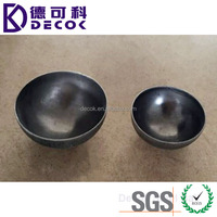 Factory price 90mm 9cm carbon steel metal hollow half ball for construction