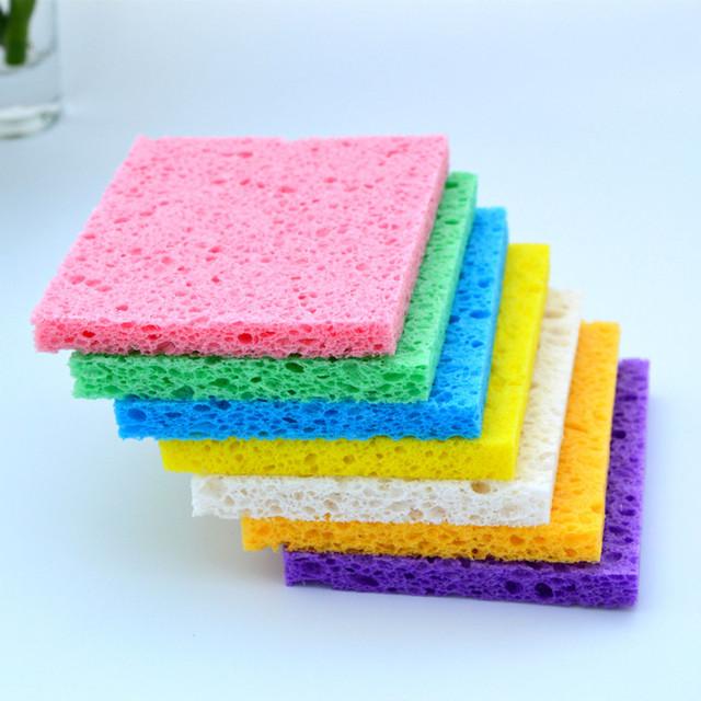 Superior materials professional skin scrubber sponge