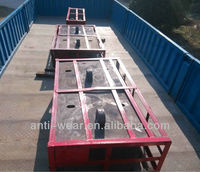 Cr18 Cast Iron Chute Lining Casting Parts Made in China