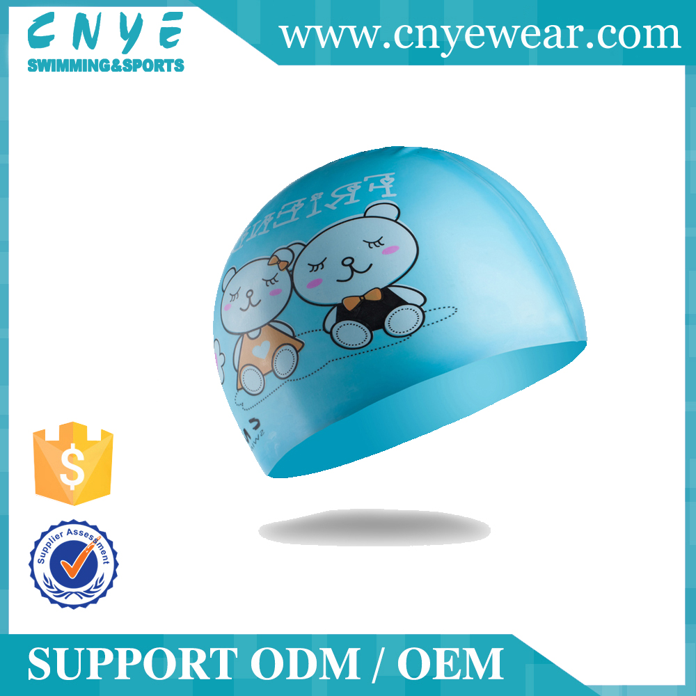 CNYE 2016 kid ladies swimming caps for kids