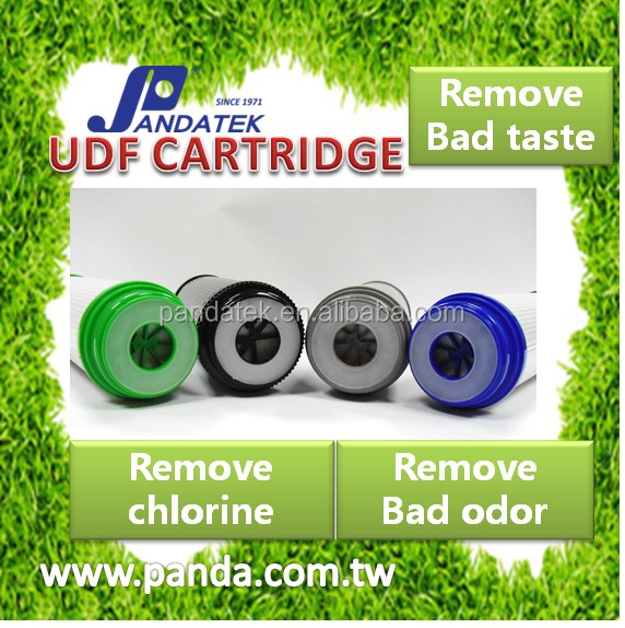 remove bad taste and bad odor Water Filter For Wash Machine Grey Udf Filter Cartridgef Activated Carbon Filter