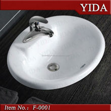 Bathroom ceramic water closet cheap price, cera sanitary ware, outdoor washing basin for top hotel