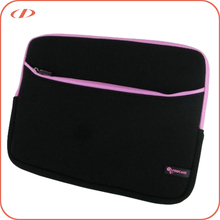 Top quality leather felt custom laptop cover sleeve for macbook protective sleeves for ipad