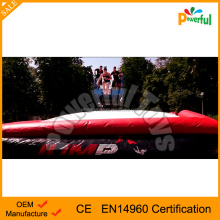 amusement inflatable air bag inflatable jump air bag for skilling