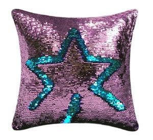 Reversible Sequin Pillow Case Decorative Mermaid Pillow Cover Color Changing Cushion Throw Pillow