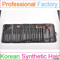 professional eco friendly make up brush set eye brushes with black pouch