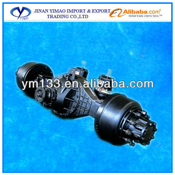 heavy truck spare parts heavy truck rear axle