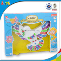 Battery Operated Bird Shape Learning Machine Plastic Words Learning Machine