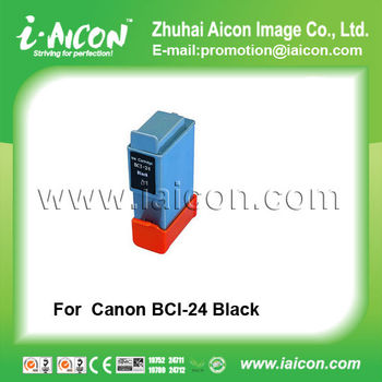 For CANON BCI-24 Compatible Black ink cartridge