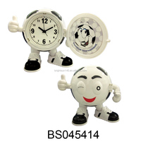 Office Usage Football Design Basketball Shape Clock with CE, RoHs