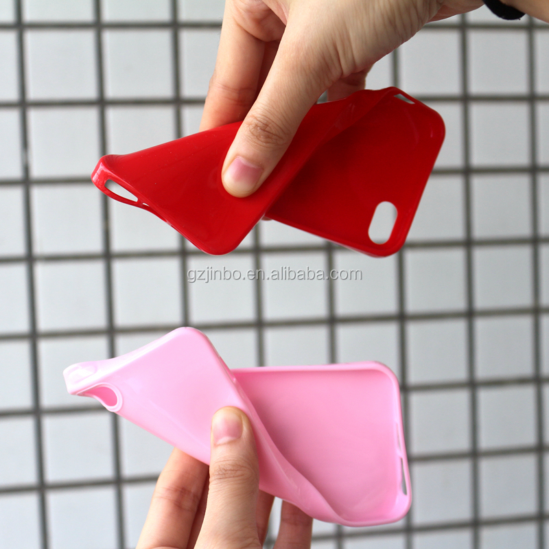 Candy Color Soft TPU Mobile Phone Case for iPhone 6 6 plus for iphone 7 7 plus for iphone 8