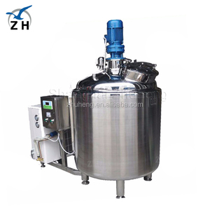 Food grade high quality vertical milk cooling tank