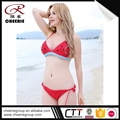 Popular ODM cotton photo open model sex girl wholesale uk ultra-thin mini bikini swimwear