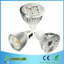 Epistar E27/e14/gu10/gu5.3/b22/mr16 3W/4W/5W guangdong dimmable led light spotlighting