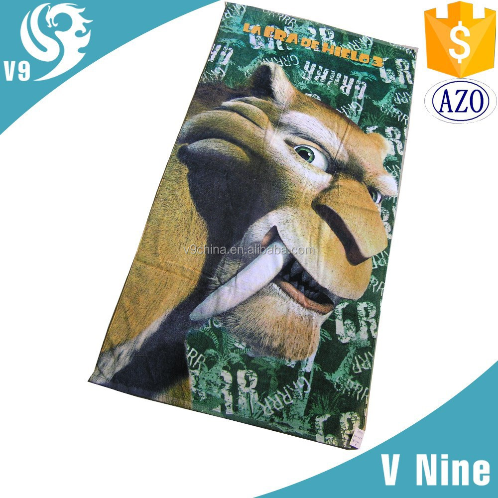 2015 3d picture woman sex with animal photo towel