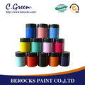 Multi-coloured acrylic art painting made in china