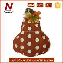 wholesale burlap artifical fake pumpkin for sale