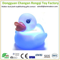 LED floating water toy swimming pool duck light