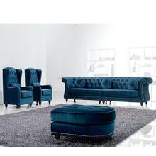 China Furniture Manufacturer Modern Leather Sofa 9516