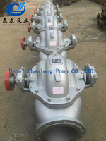 Single-stage double suction split casing open type centrifugal electric water pump