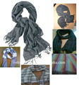 multi weave VISCOSE SCARF Hand Woven High Fashion