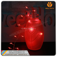 2016 new battery operated copper wire LED string lights with waterproof battery for Christmas