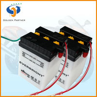 Cheap motorcycle battery dry cell motorcycle super battery