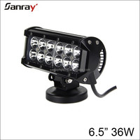Double Row 36w Waterproof 6000k Spot Flood Combo Beam 4x4 6.5inch Led light bar
