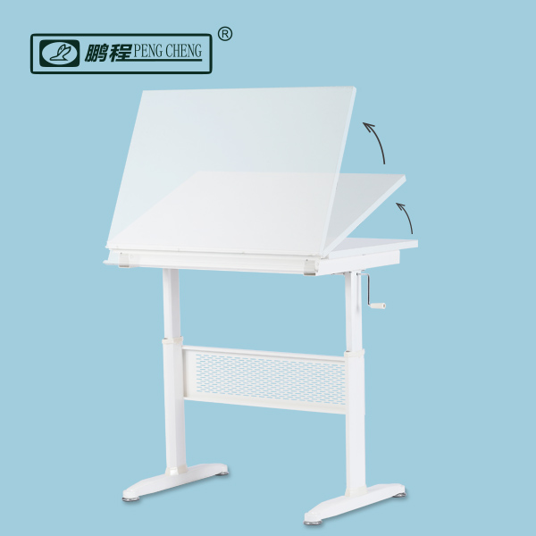 Architecture Engineering Height Adjustable Drafting Drawing Table