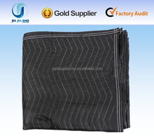 non-woven filled with recycled cotton quilted warehouse pad used moving blankets