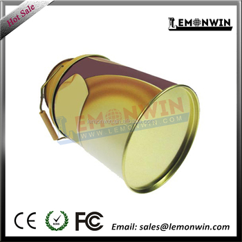 0.23 mm thickness tube shape tin box