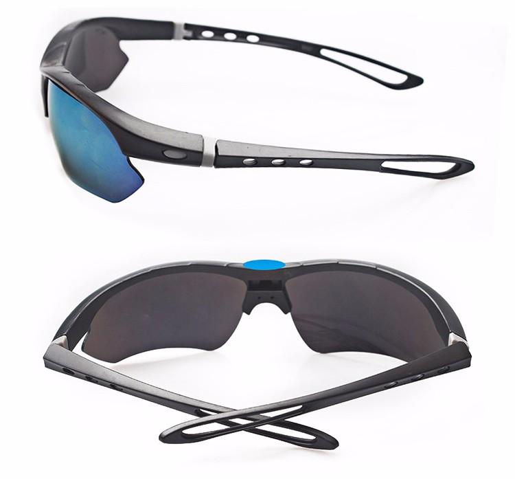 Newest design YNJN promotion custom logo personality outdoor sport uv400 safety sunglasses