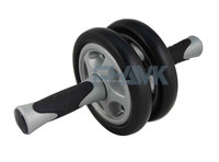 China low price double ab roller exercise wheel